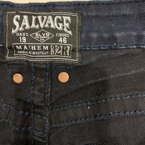 Men jeans from buckle